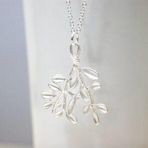 Leaf Branch Necklace/Bracelet/Anklet, Handmade 🌸